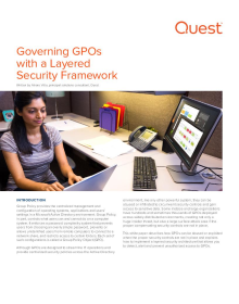 Governing GPOs with a Layered Security Framework