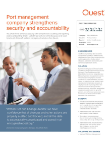 Abu Dhabi Ports Fortifies Security & Accountability with Change Auditor