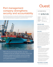Abu Dhabi Ports Fortifies Security & Accountability with Quest Solutions
