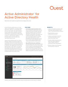 Active Administrator for Active Directory Health
