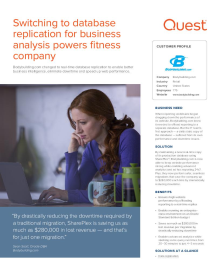 Bodybuilding.com: Data Replication Helps Fitness Company Stream Visitors to Its Website