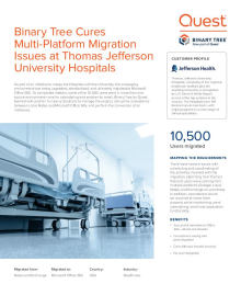 Jefferson University Hospitals in the Cloud