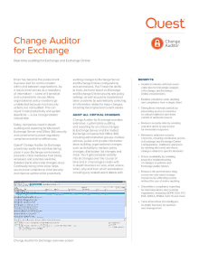 Change Auditor for Exchange