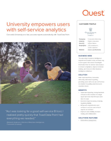Concordia University; University empowers users with self-service analytics