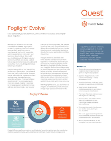 Foglight® Evolve