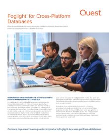 Foglight for Cross Platform Databases Brochure