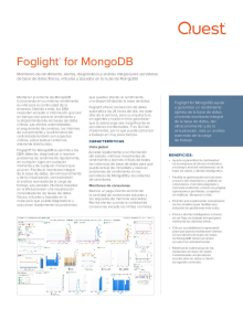 Foglight for MongoDB