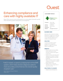 Green Clinic Health System: Enhancing compliance and care with highly available IT