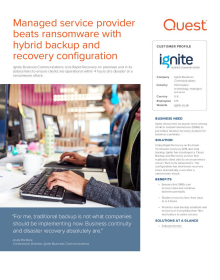 Ignite Business Communications Case Study