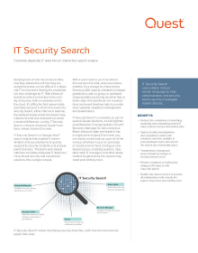 IT Security Search
