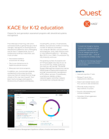 KACE for K-12 Education