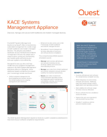 KACE Systems Management Appliance