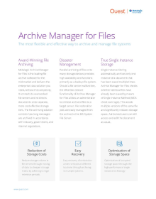Metalogix Archive Manager for Files