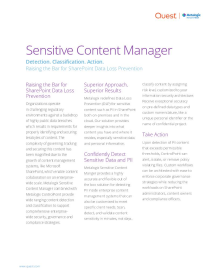 Metalogix Sensitive Content Manager