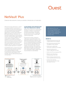 NetVault® Plus