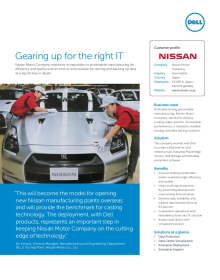 nissan motor co ltd case study Owned by or licensed by nissan motor co ltd and/or subsidiaries markmonitor solutions are protected by us patent rights, including us 7,346,605 other patents pending source code: csnis043015 markmonitor case study | nissan created date.