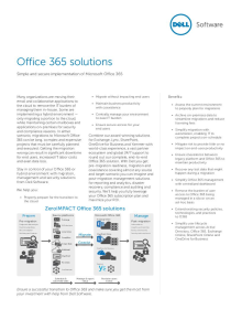 Office 365 Solutions Overview