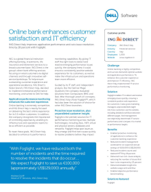 ING Direct Italy;Online bank enhances customer satisfaction and IT efficiency