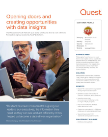 Opening doors and creating opportunities with data insights