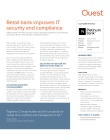 Platinum Bank: Retail bank improves IT security and compliance