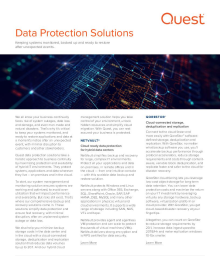 Quest Data Protection Solutions