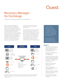 Recovery Manager for Exchange