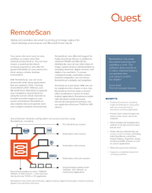 WIA and TWAIN Compliant RDP Scanner Software | RemoteScan