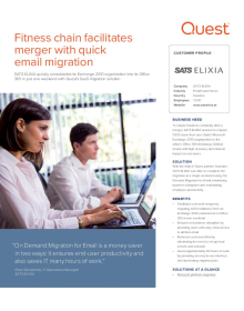 SATS Elixia: Fitness chain facilitates merger with quick email migration