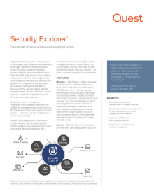 Security Explorer