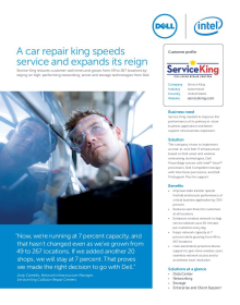 Service King: A car repair king speeds service and expands its reign