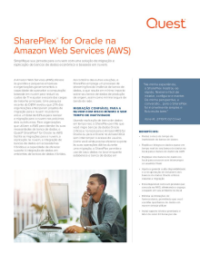 SharePlex for Oracle na Amazon Web Services (AWS)
