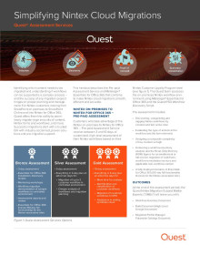 Simplifying Nintex Cloud Migrations: Quest Assessment Services
