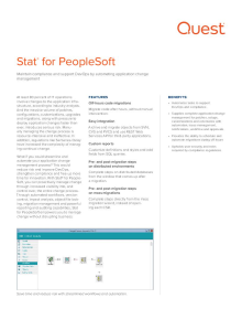 Stat® for PeopleSoft