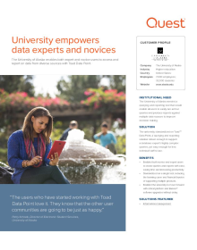 University of Alaska: University empowers data experts and novices