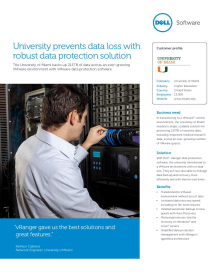 University of Miami: University prevents data loss with robust data protection solution