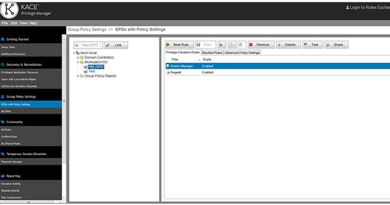 Desktop Management Software for Secure Windows User Environments