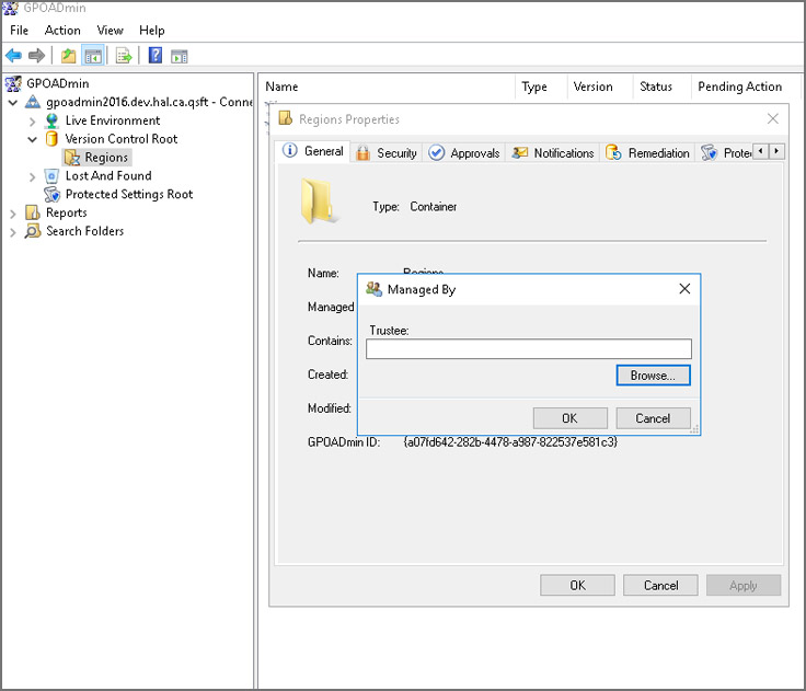 Group Policy (GPO) Management Console