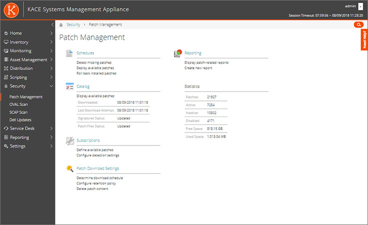 KACE Systems Management Appliance (K1000) | Endpoint Management