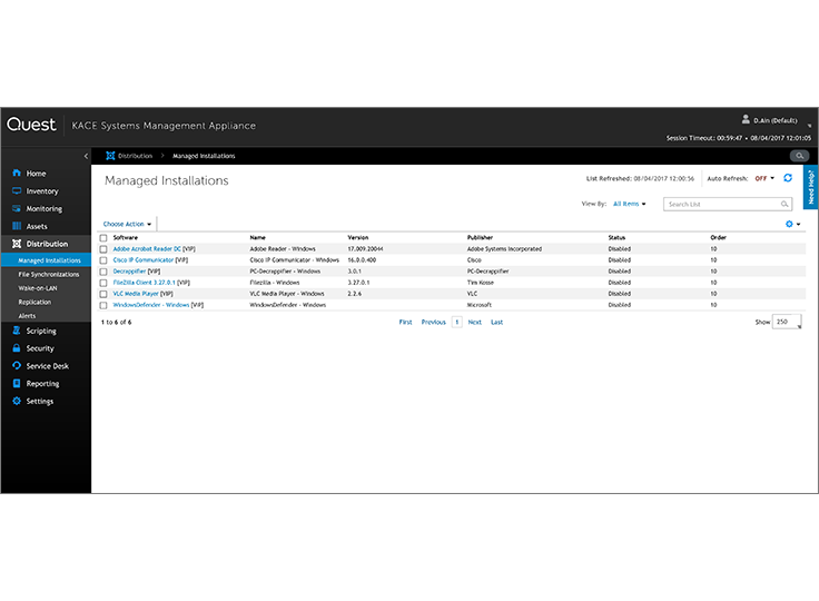 KACE as a Service | Cloud-based Systems Management for Network