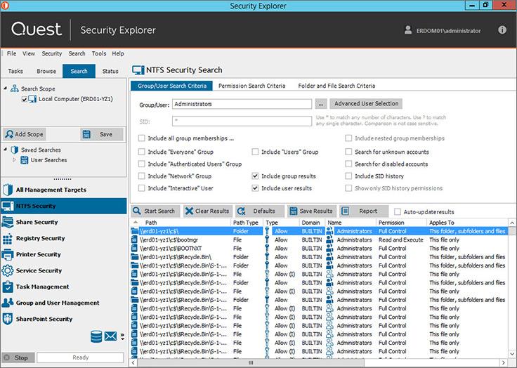Windows Permissions Management Solution