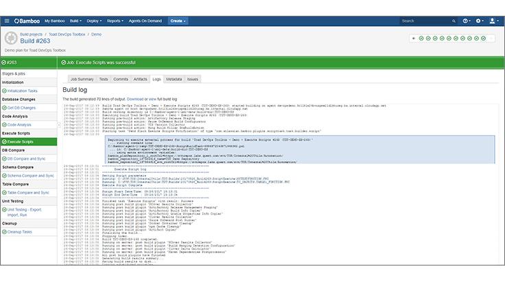 Toad DevOps Toolkit boosts Database DevOps velocity