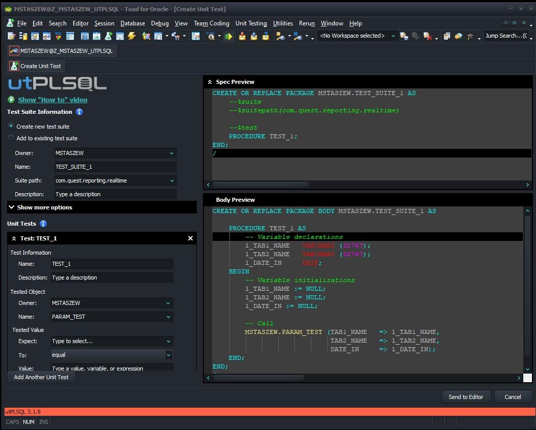 Beste Datenbanksoftware für Oracle Entwickler und
