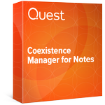Exchange and IBM Lotus Notes coexistence manager