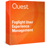 Foglight User Experience Management