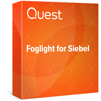 Foglight for Siebel