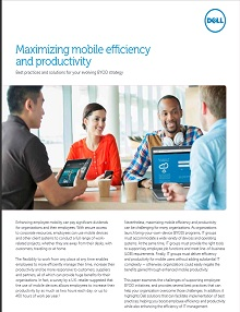 Maximizing mobile efficiency and productivity