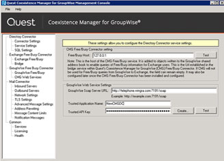 Coexistence Manager for GroupWise
