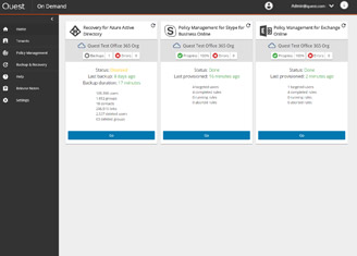On Demand Migration: O365 Tenant to Tenant Migrations