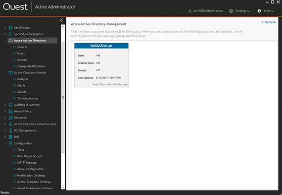 Active Administrator for Azure Active Directory