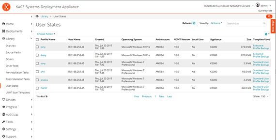 Software License Management Screenshot